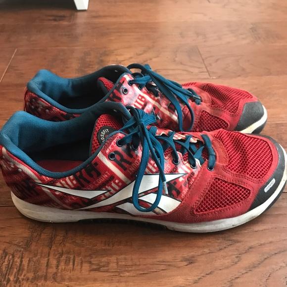 37c638498efce5 Reebok Men s Nano 2 red Crossfit shoes size 11.5. M 5a49aafadaa8f6b232032370